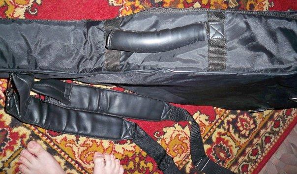 теплый зимний чехол для акустический гитары